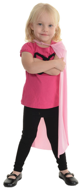 Cape Child Pink 24 Inch Long