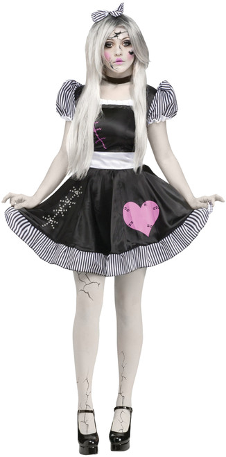 Broken Doll Women's Costume