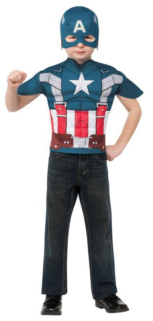 Capt America Child Top
