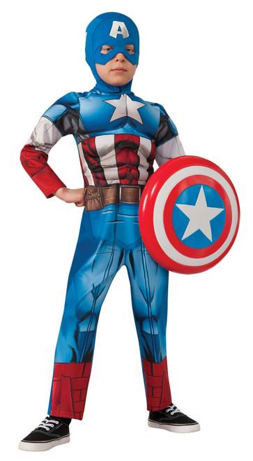 Capt America Child Med
