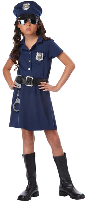 Police Officer Child Med 8-10