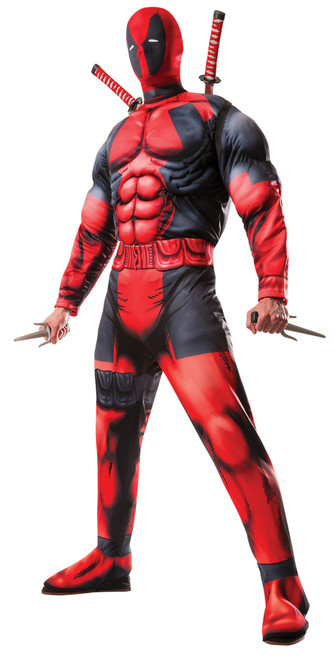 Deadpool Muscle Adult Std