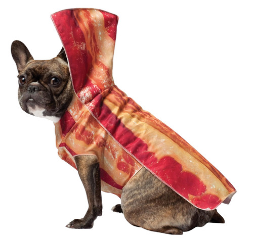 Bacon Dog Costume Xlarge