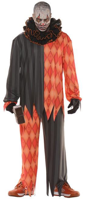 Men's Evil Clown Costume 2XL