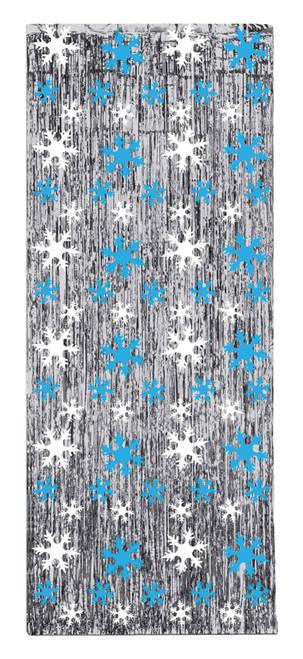 Snowflake Gleam N Curtain