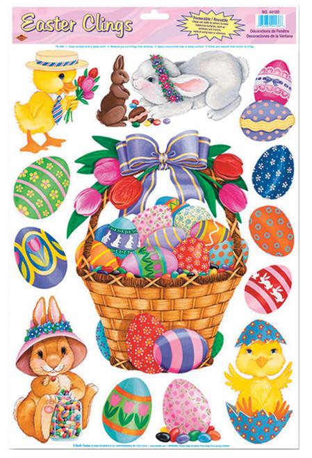 Easter Basket  Friends Clings