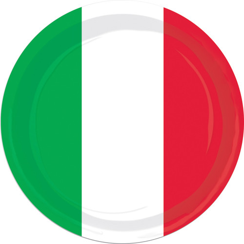 Red White Green Plates