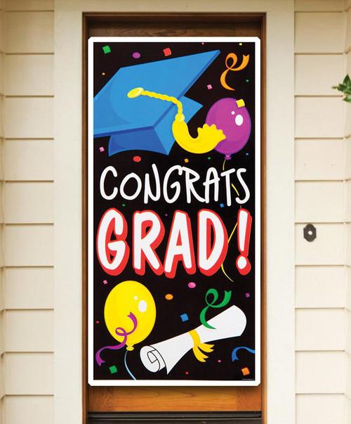 Congrats Grad Door Cover