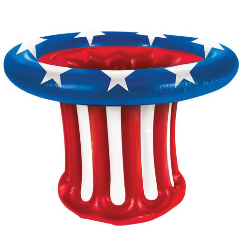 Inflatable Patriotic Hat Coole