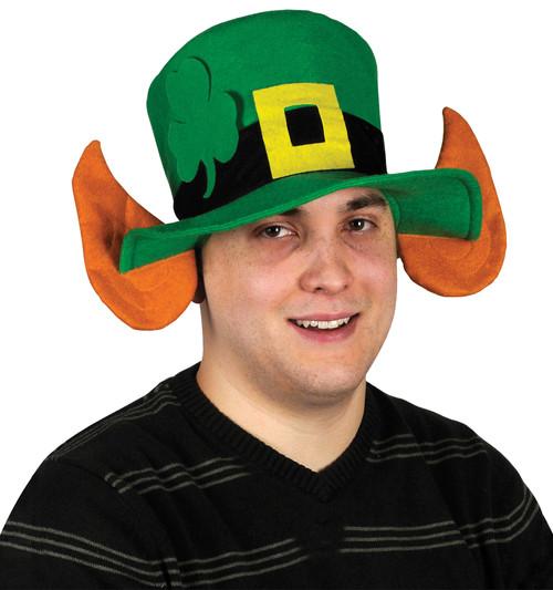 Felt Leprechaun Hat W/ears
