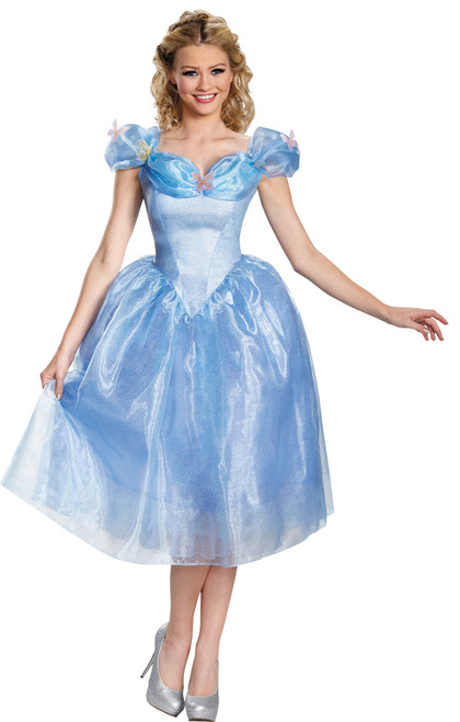Cinderella Movie Women's Costume Sz 12-14