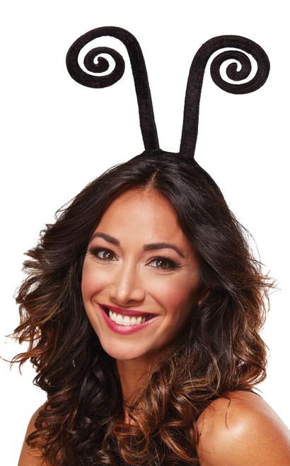 Antenna Bug Headband Curly