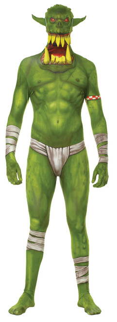 Morph Jaw Dropper Green Adt Xl