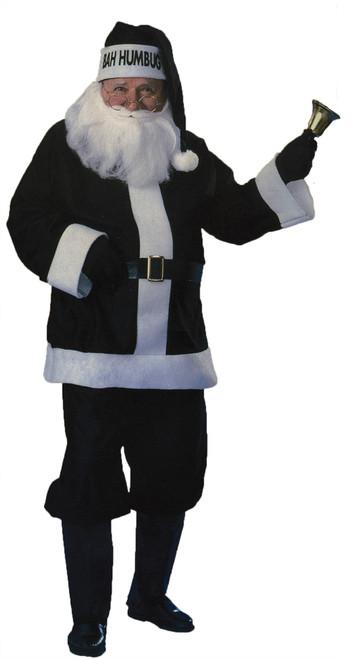 Santa Suit Black Bah Humbug