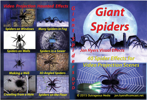 Usb Giant Spiders Digt Decor