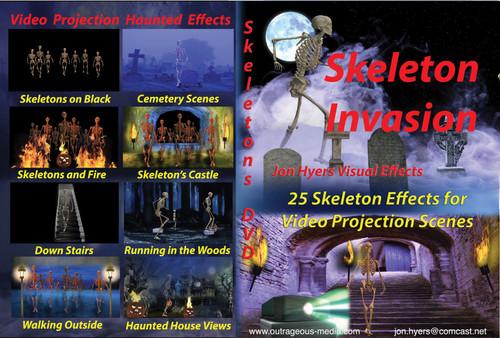 Dvd Skeleton Invasions