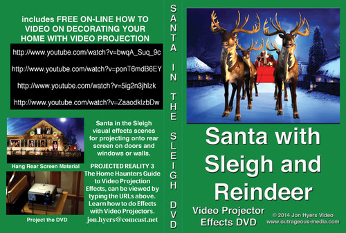 Dvd Santa And Reindeer
