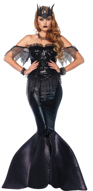 Dark Water Siren Mermaid Costume