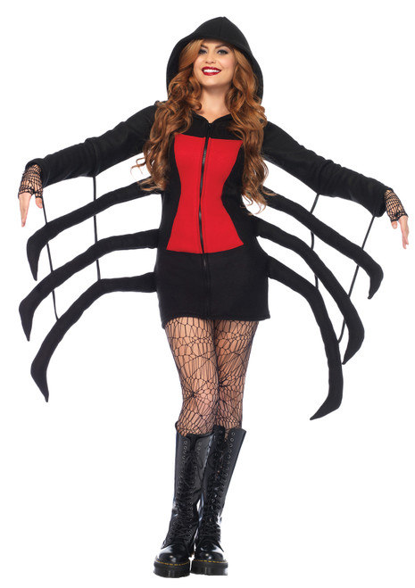 Women's Black Widow Spider Costume