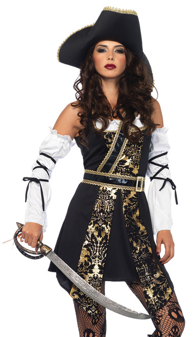 Black Sea Buccaneer Women's Costume