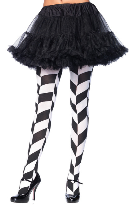 Tights Illusion Blk/wht