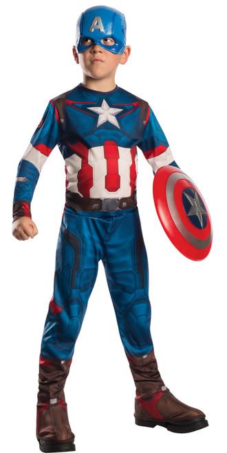 Capt America Child Large