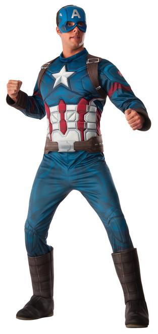 Ca3 Captain America Adult Xl