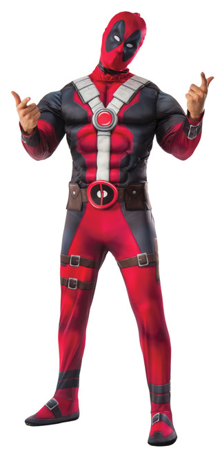 Deadpool Dlx Adult Xl
