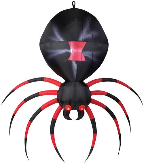 Airblown Black Spider