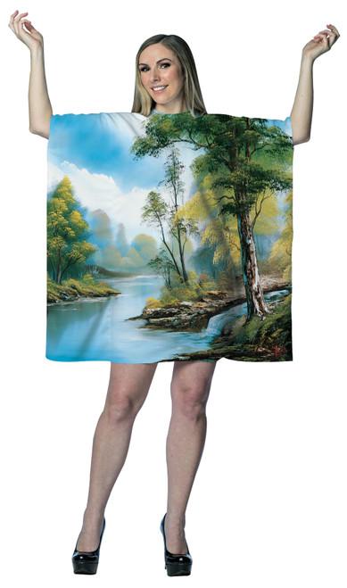 Women's Bob Ross Painting Costume