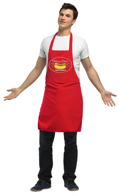 Hot Dog Vendor Dirty Apron Adu