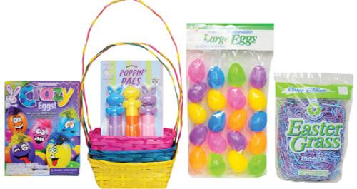 Easter Basket Bu/yw/pk Kit