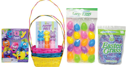 Easter Basket Bu/yw/pk Kit