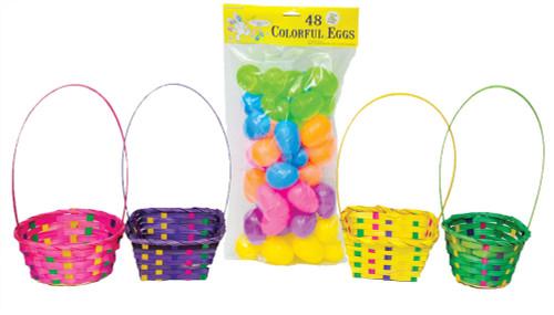 Easter Bskt Egg Hunt Kit