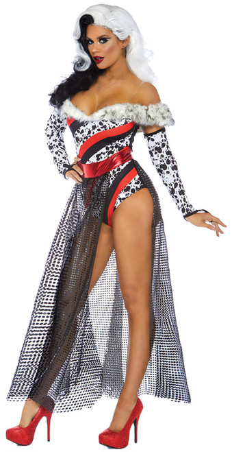 Dalmation Dame Adult Costume