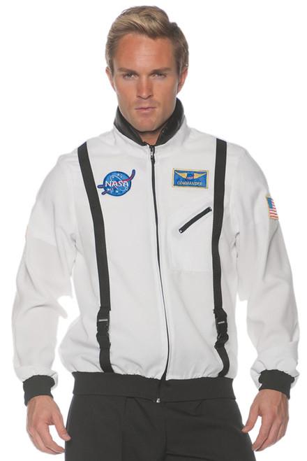 Space Jacket Ad White Std