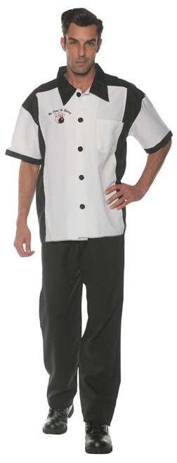 Bowling Shirt Ad White Xl