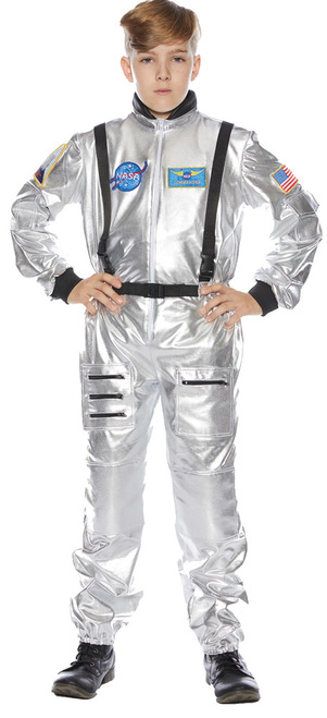 Astronaut Child Silver Lg 10-1