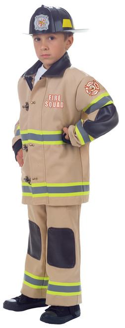 Firefighter Child Tan Lg 10-12