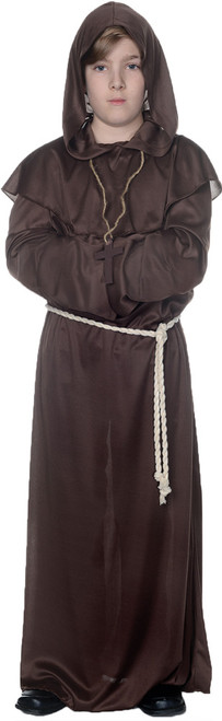 Kid's Brown Monk Robe