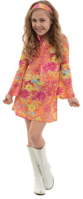 Girl's Flower Child Costume