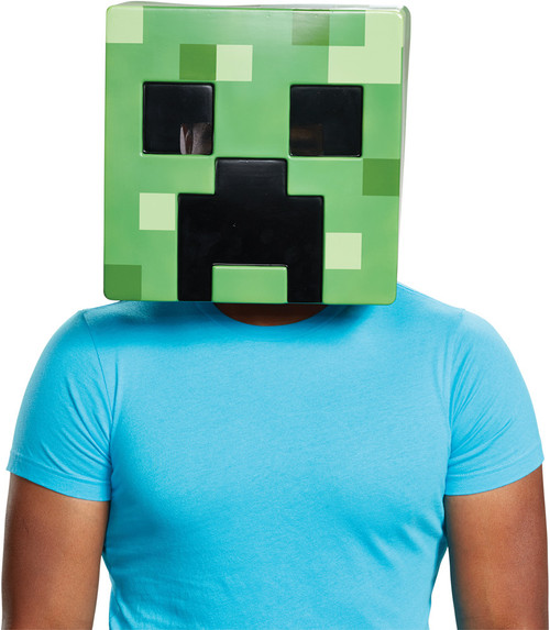 Creeper Mncraft Adult Mask