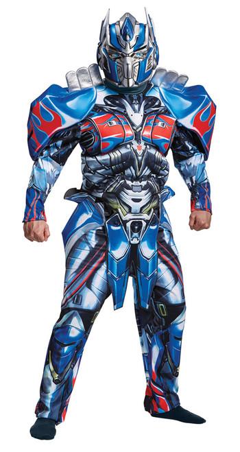 Optimus Prime Dlx Adult 42-46