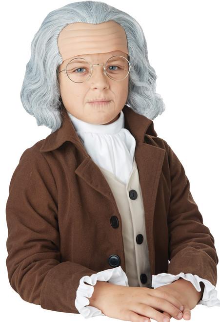 Benjamin Franklin Wig Child