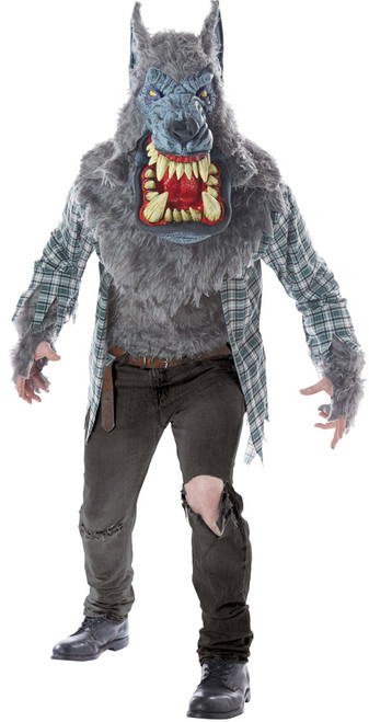 Monster Wolf Adult Lg-xl