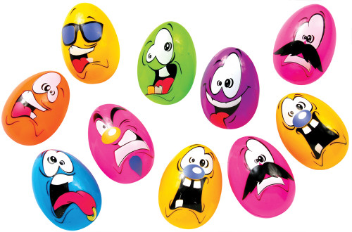 Easter Crazy Eggs Bag Of 10