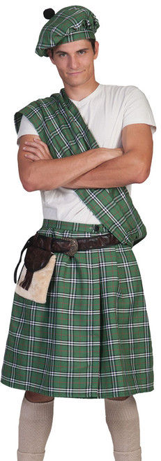 Highlander Green Ad One Size