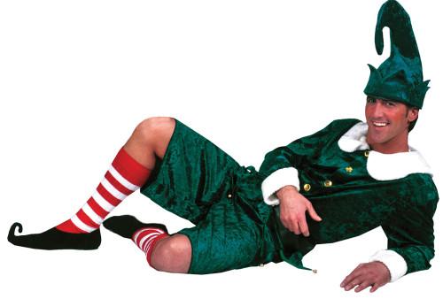 Men's Holly Jolly Elf Costume
