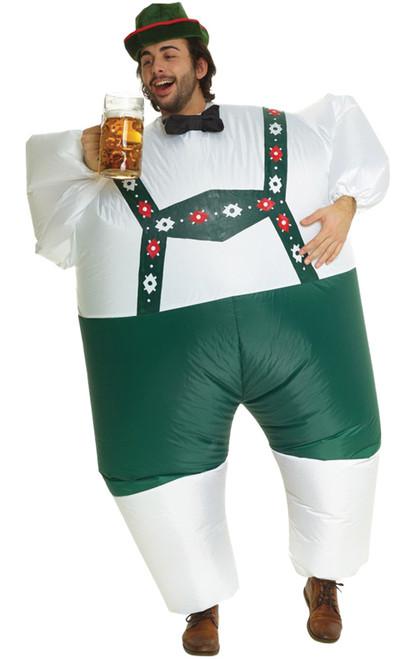 Adult Lederhosen  Inflatable Costume