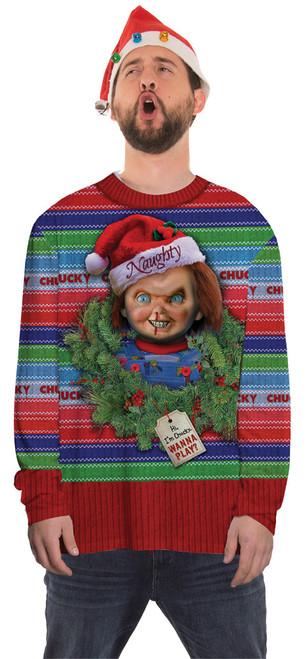 Chucky Ugly Christmas Sweater Shirt